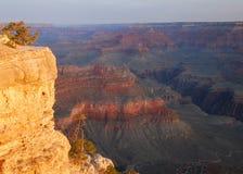 рассвет каньона грандиозный Стоковые Фото