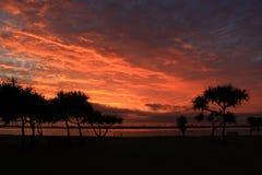 Рассвет - красивый момент дня Стоковая Фотография RF