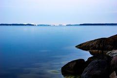 Рассвет морским путем Стоковые Фотографии RF