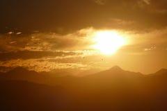 Рассвет национального монумента гор San Gabriel Стоковые Фото