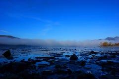 Рассвет на Derwentwater Стоковая Фотография