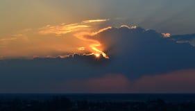 Рассвет на 4 a M Стоковая Фотография RF