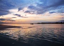 Рассвет на Tanjung Api Стоковое Изображение RF