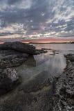 Рассвет на Tobermory Стоковые Изображения