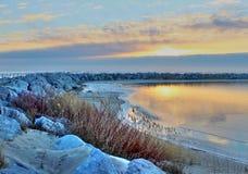 Рассвет нового дня Стоковая Фотография RF
