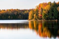 Рассвет озера Ален Стоковое Изображение RF