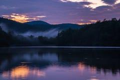 Рассвет озера цен Стоковые Изображения