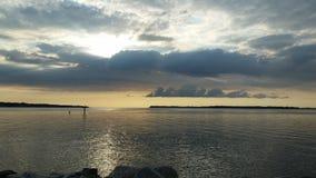 Рассвет острова Solomons Стоковые Фотографии RF