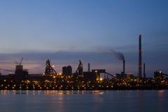рассвет промышленный Стоковые Фотографии RF