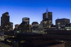 Рассвет Сан-Франциско городской Стоковые Фотографии RF