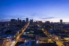 Рассвет Сан-Франциско Стоковое Изображение