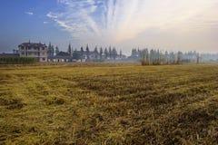 рассвет сельской местности Стоковое Изображение
