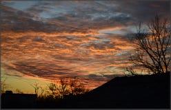 рассвет Скоро Солнце поднимет стоковое изображение