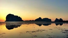 Рассвет Солнця Стоковая Фотография