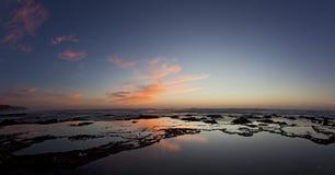 рассвет спокойный Стоковая Фотография RF