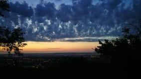 рассвет Стоковое Фото