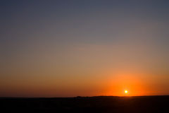 рассвет Стоковые Фото