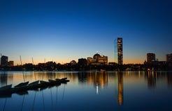 рассвет boston Стоковое Изображение