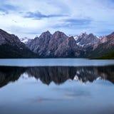 Рассвет geopark Nianbaoyuzhe национальный Стоковые Фото