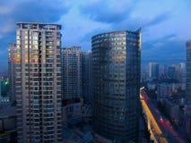 Рассвет kunming Стоковое Изображение