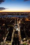 рассвет New York города Стоковое фото RF