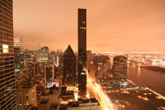 рассвет New York Стоковая Фотография