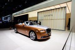 Рассвет Rolls Royce Стоковое Фото