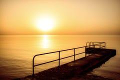 Рассвет Xnejni стоковое фото rf