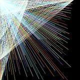 Рассеивайте линия цвета прямая, абстрактная предпосылка иллюстрация штока