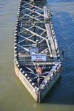 Рассекатель майны реки Стоковые Изображения RF