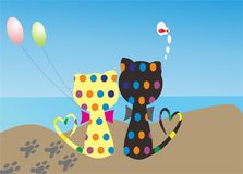 Рассказ кота и моря иллюстрация штока
