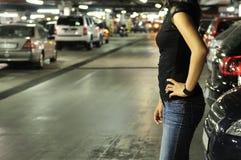 рассказ места для парковки подземный Стоковое Изображение