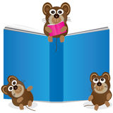 рассказ мыши eps книги иллюстрация вектора