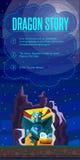 Рассказ дракона Стоковые Изображения RF