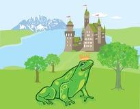 Рассказ сказки принца лягушки Стоковое Фото