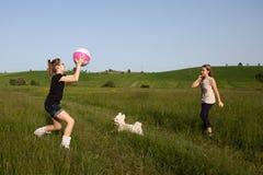 Рассказ сорванного шарика Стоковое фото RF