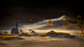 Рассказ утра осени Стоковое Изображение RF