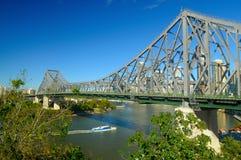 рассказ brisbane моста Стоковое Изображение RF