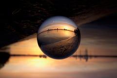 Рассказ lensball стоковые изображения