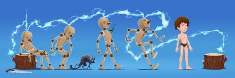 Рассказ Pinocchio. иллюстрация вектора