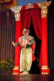 рассказ ramayana khon Стоковая Фотография