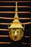 Рассказ regend praram маски золота Стоковая Фотография