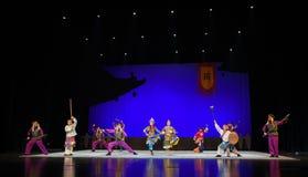 """Рассказ  teenager†Пекина Opera""""Yue старых евнух-детей Стоковое Фото"""