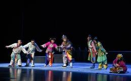 """Рассказ  teenager†Пекина Opera""""Yue старых евнух-детей Стоковое фото RF"""