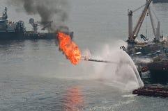 расслоина масла горизонта deepwater bp Стоковая Фотография