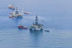 расслоина масла горизонта deepwater bp Стоковое Изображение RF