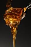 расслоина меда стоковая фотография rf