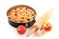 расстегай выпечки яблока Стоковые Изображения RF