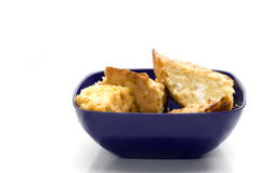 расстегай еды лук-порея мозоли Стоковая Фотография