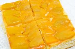 расстегай персика Стоковые Изображения